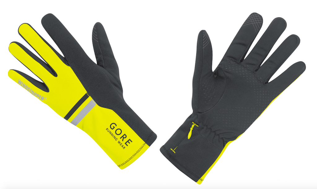 Head Digital Sport Running Glove Using Sensatec